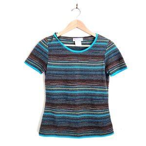 {VTG M Missoni} Wool Blend Striped Sweater